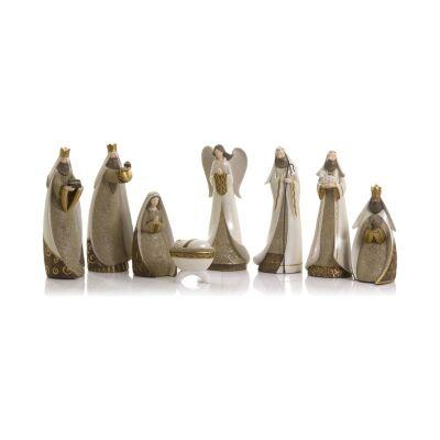 Jemimah 8 Piece Nativity Figurine Set