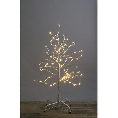 Riddle LED Light Up Curly Twig Tree, 100cm