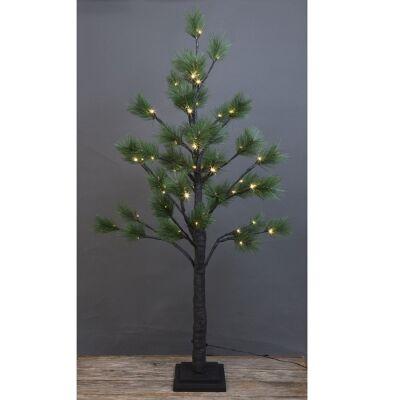 Saniya LED Light Up Artificial Pine Tree, 120cm