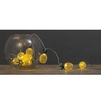 Pineapple Bunch LED String Light, 165cm