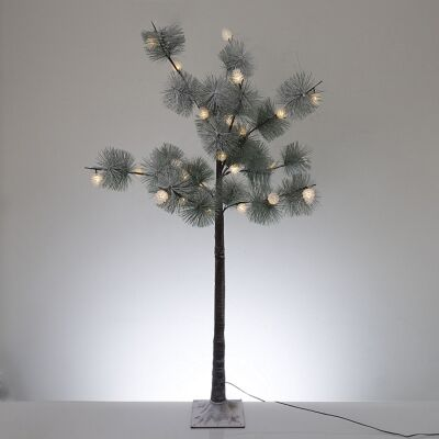 Hebert LED Light Up Artificial Pine Tree, 120cm