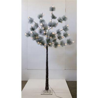 Hebert LED Light Up Artificial Pine Tree, 180cm