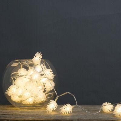 Pinecone Bunch LED String Light, 390cm