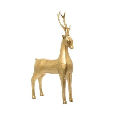 Lugo Caribou Reindeer Figurine, Guarding