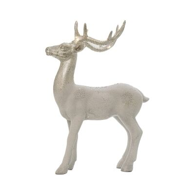 Wilfred Deer Figurine with LED Horns, Standing