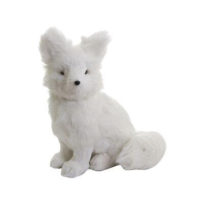 Kwame Sitting Fox Figurine