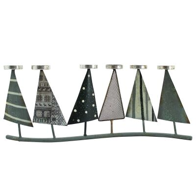 Stanford Iron Christmas Tree Tealight Holder