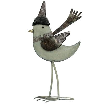 Stanford Iron Chirpy Bird Decor