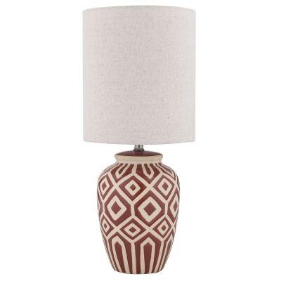 Denning Ceramic Base Table Lamp