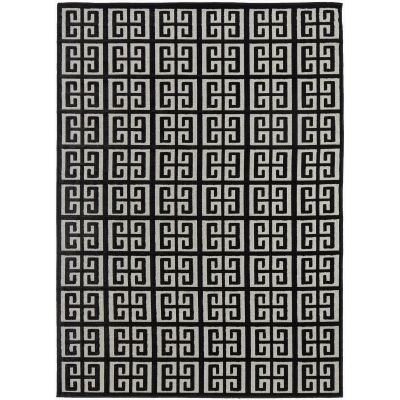 York Brenda Modern Rug, 330x240cm, Black