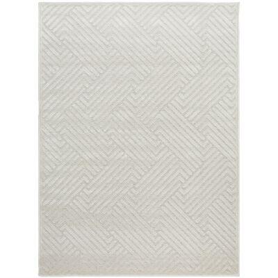 York Cindy Modern Rug, 290x200cm, Off White