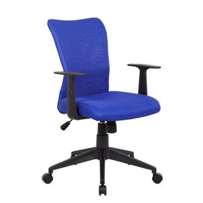 Ashley Fabric Office Chair, Royal Blue
