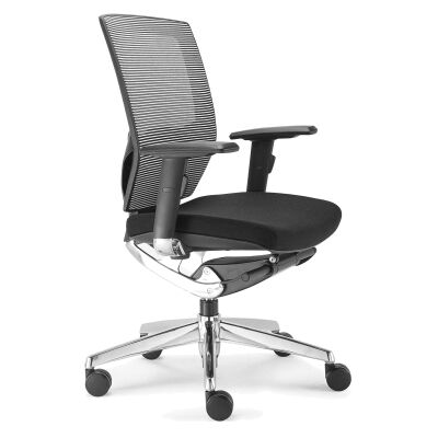 Vegas PU Leather Mid Back Office Chair