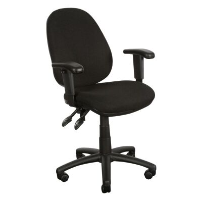 Typist Fabric High Back Office Chair with Arms