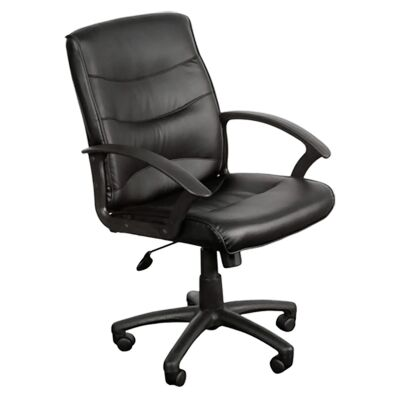 Star PU Leather Mid Back Executive Chair