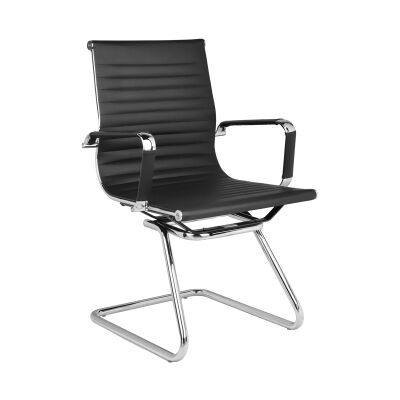 Naples PU Leather Cantilever Client Chair