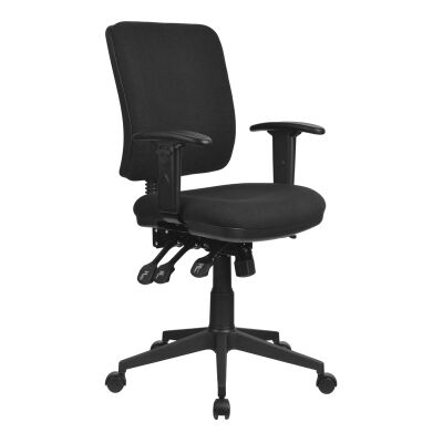 Aviator Fabric Office Chair with Arms