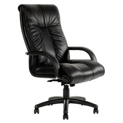 Statesman Leather High Back Executive Chair