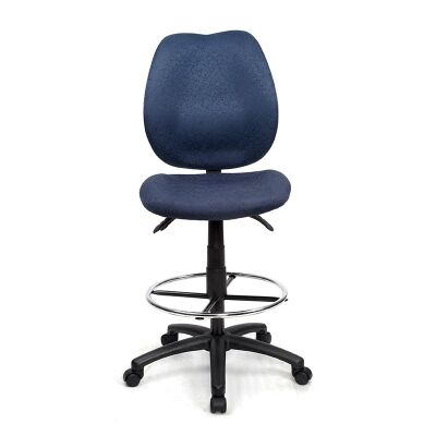 Sabina Blue Chair with Drafting Ring - YS43D
