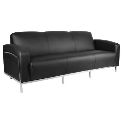Sienna PU Leather 3 Seater Lounge