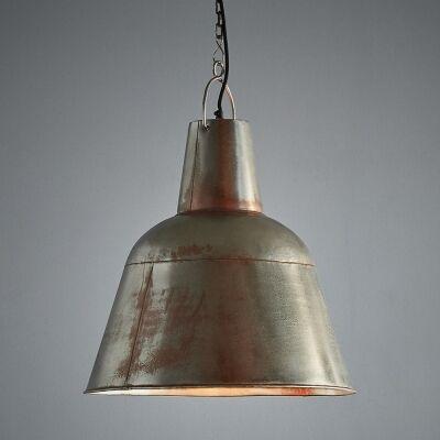 Koln Rustic Iron Dome Pendant Light