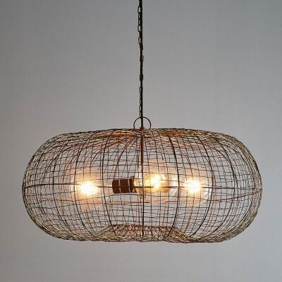 Lobster Metal Wire Pendant Light