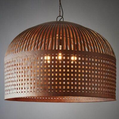 Esch Iron Pendant Light, Extra Large, Rust