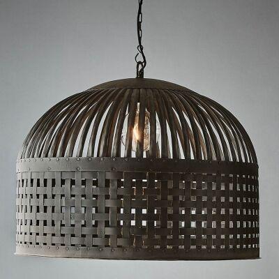 Esch Iron Pendant Light, Large, Antique Black