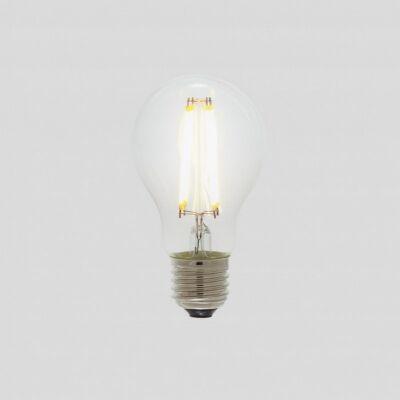 A60 LED Filament Light Bulb, E27, Clear