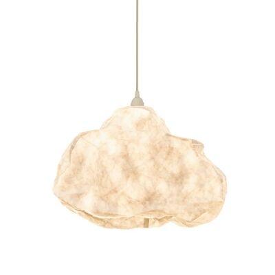 Cumulus Free Form Cloud Paper Pendant Light, White