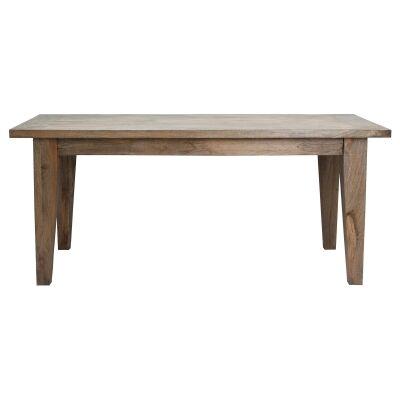 Kilmersdon Mango Wood Dining Table, 220cm