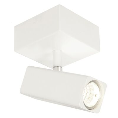 Artemis Commercial Grade Metal Spotlight, White