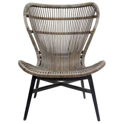 Mona Lisa Rattan Lounge Chair