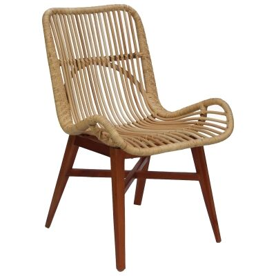 Flinstone Rattan Side Chair