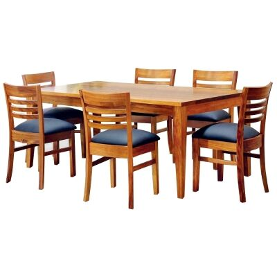 Casarano Tasmanian Blackwood Timber Dining Table (Table Only), 150cm