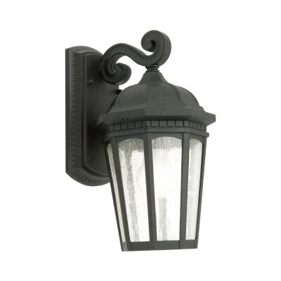 Cambirdge IP43 Outdoor Wall Light - Black