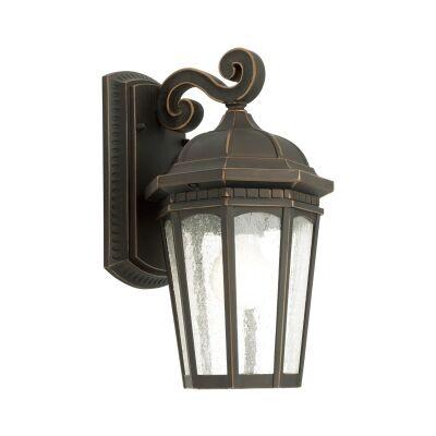 Cambirdge IP43 Outdoor Wall Light - Bronze