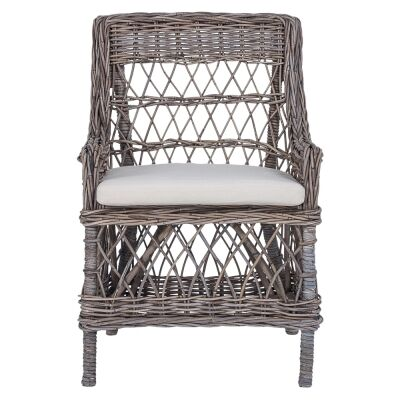 Moselle Rattan Carver Dining Chair