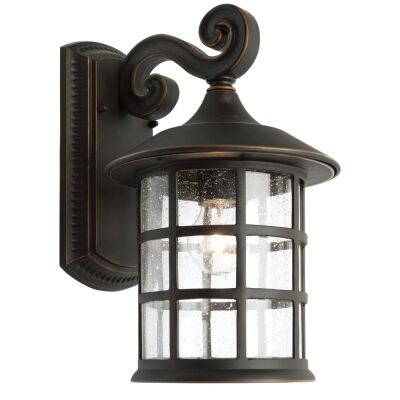 Coventry Large IP43 Aluminium Outdoor Wall Light - Bronze