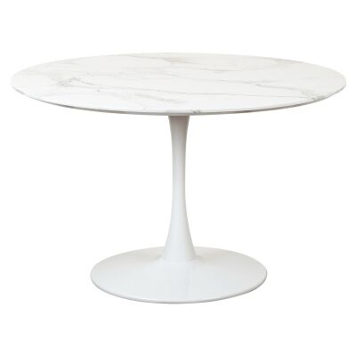 Hanaya Round Dining Table, 120cm