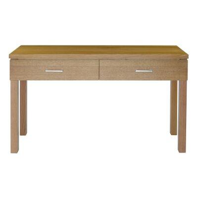 Moselia Tasmanian Oak Timber Hall Table, 125cm, Wheat