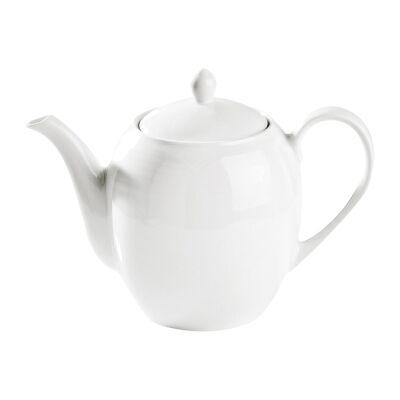 Noritake Arctic White Fine China Tea Pot