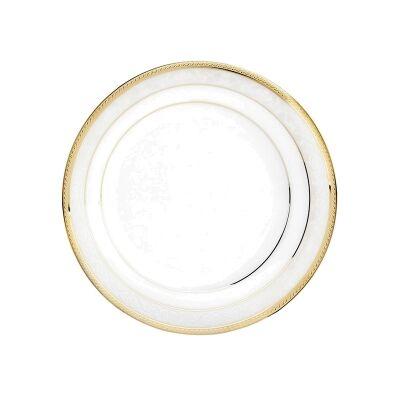 Noritake Hampshire Gold Fine China Entree Plate