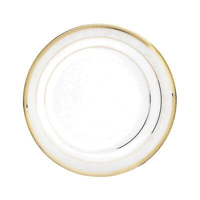 Noritake Hampshire Gold Fine China Dinner Plate