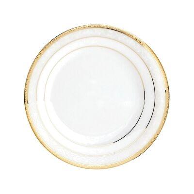 Noritake Hampshire Gold Fine China Soup Plate