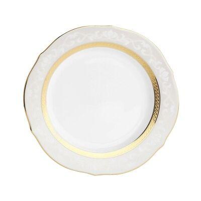 Noritake Hampshire Gold Fine China Accent Plate