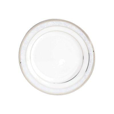 Noritake Hampshire Platinum Fine Porcelain Bread & Butter Plate