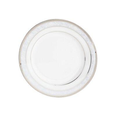 Noritake Hampshire Platinum Fine Porcelain Entree Plate