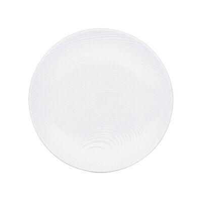 Noritake Colorscapes WOW Dune 4 Piece Fine Porcelain Appetizer Plate Set