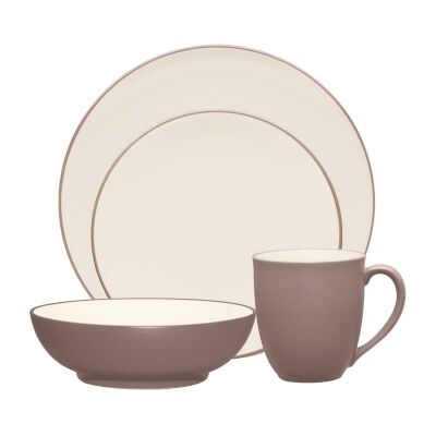 Noritake Colorwave Clay 16 Piece Stoneware Dinner Set